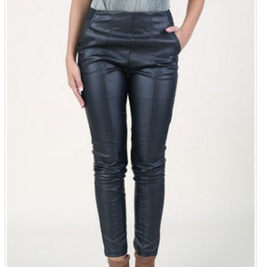 ALTAR'D STATE S NWT Black Moto Faux Leather Pants